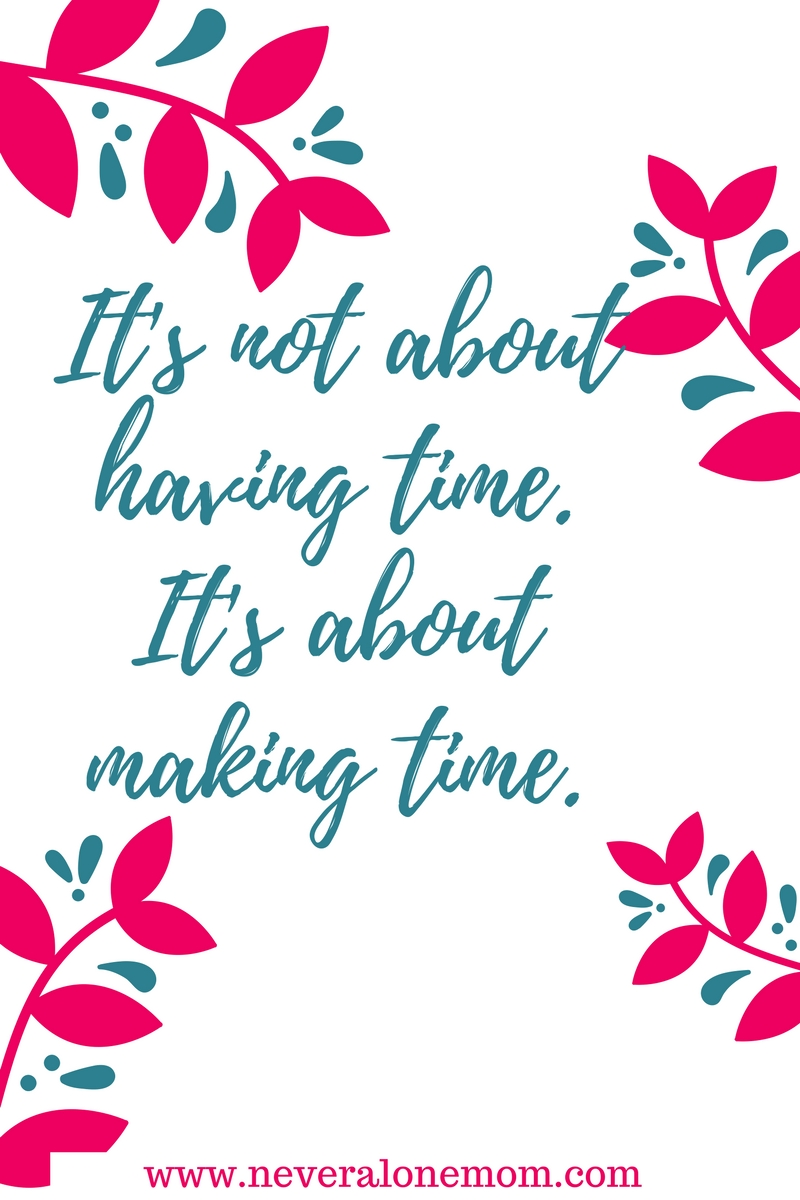 Make time for qaulity time with your kids with these tips! | neveralonemom.com