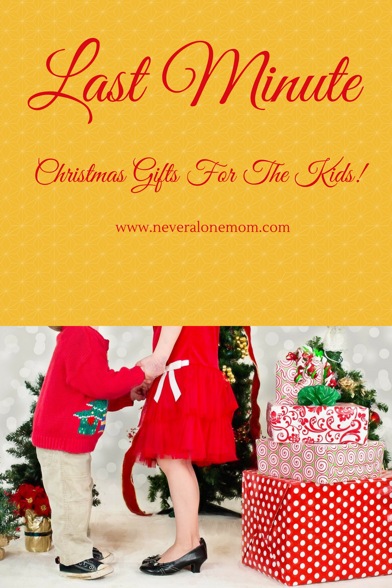 Last Minute Christmas Gifts For Kids | neveralonemom.com