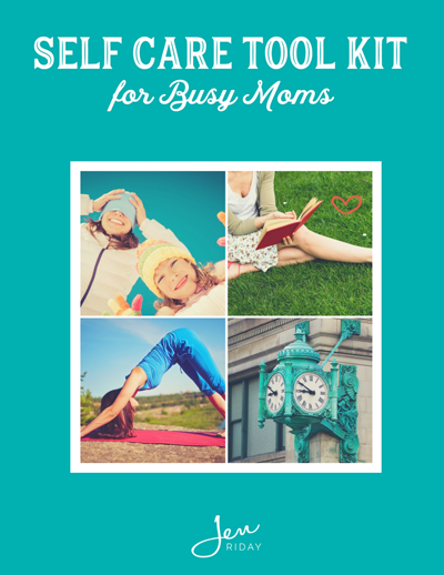 Self Care For Moms | neveralonemom.com