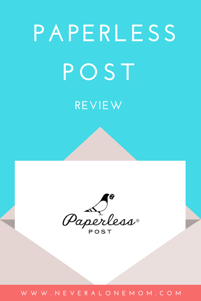 Paperless Post review | neveralonemom.com