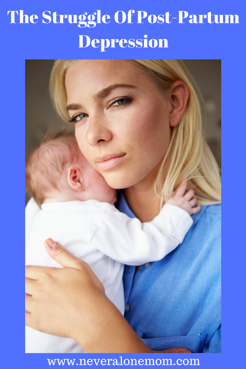 Postpartum Depression | neveralonemom.com