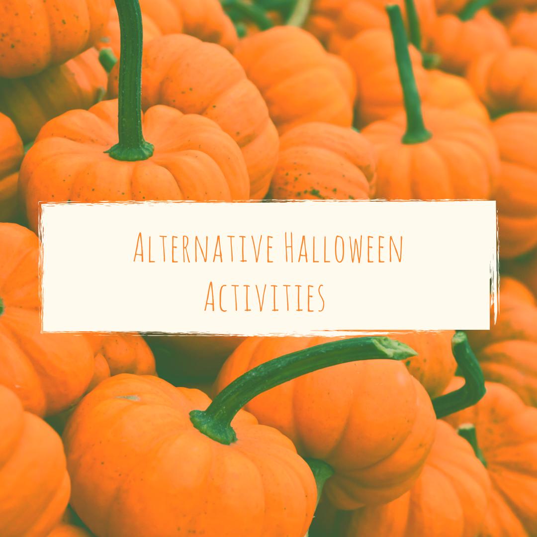 Alternative Halloween activities | neveralonemom.com