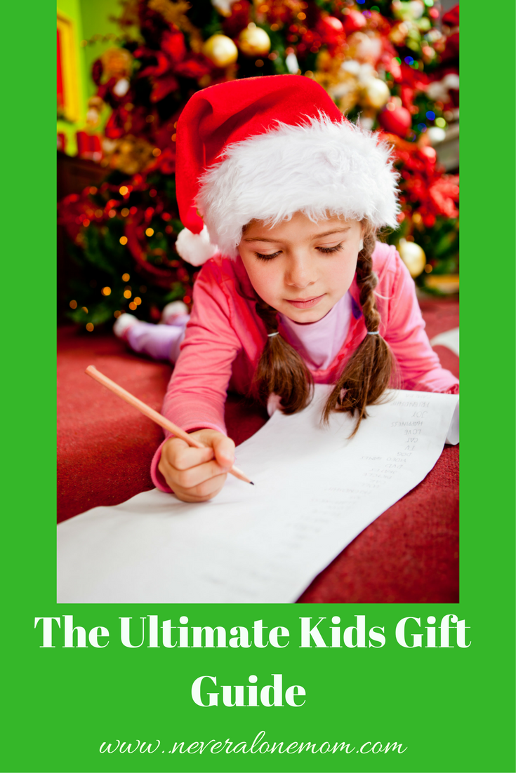 The Ultimate gift guide for kids | neveralonemom.com