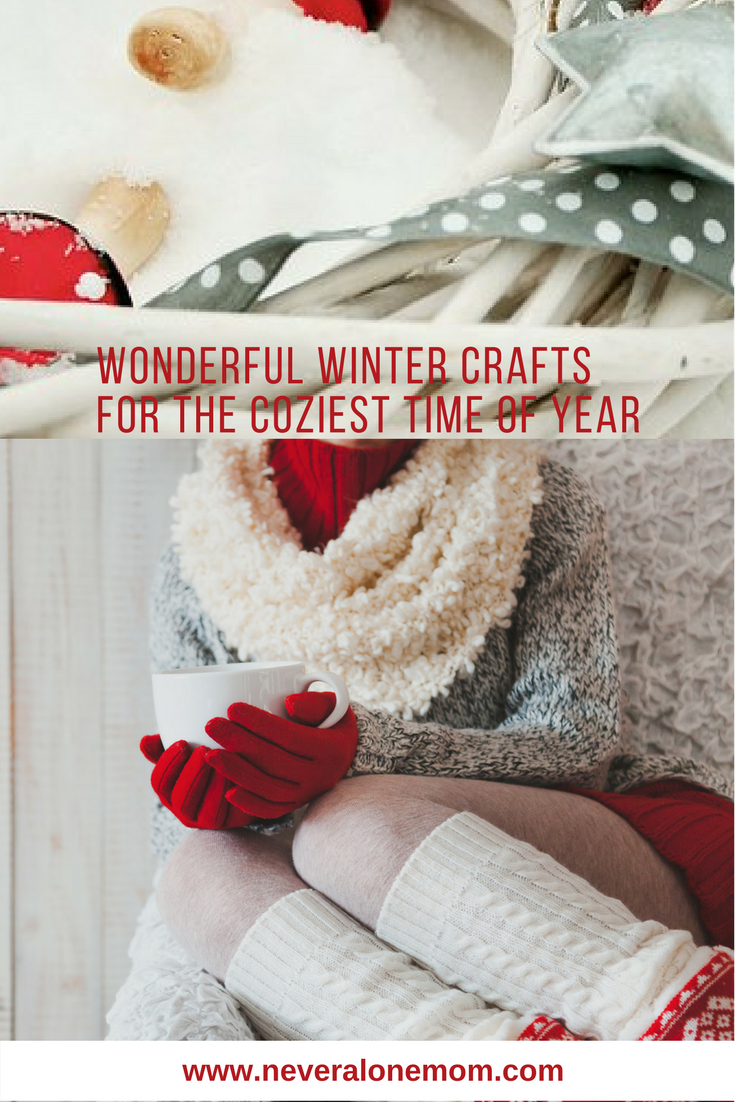 wonderful winter crafts | neveralonemom.com