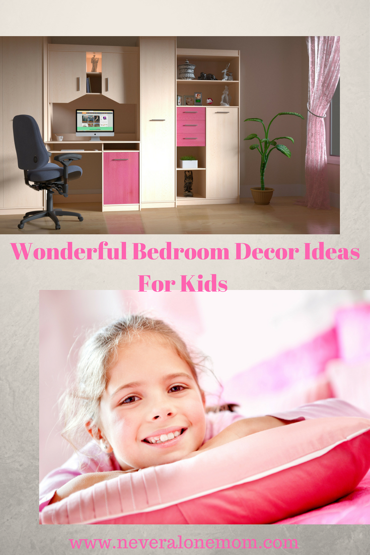 Wonderful bedroom decor ideas for kids! | neveralonemom.com