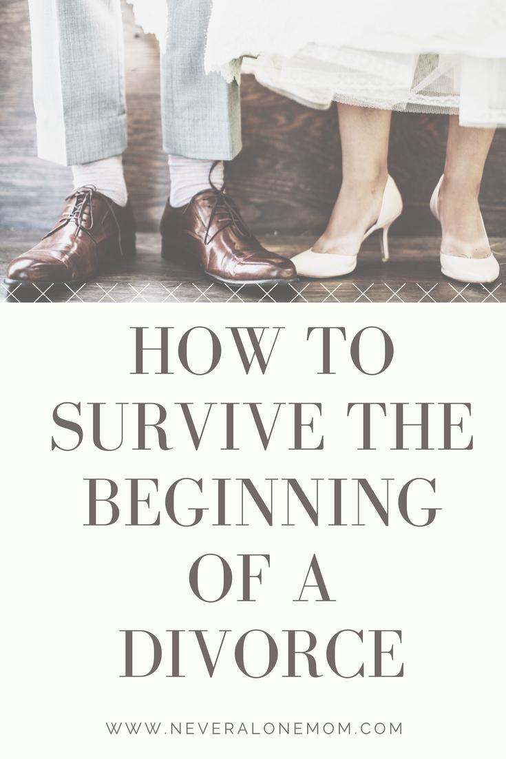 How to survive divorce | neveralonemom.com