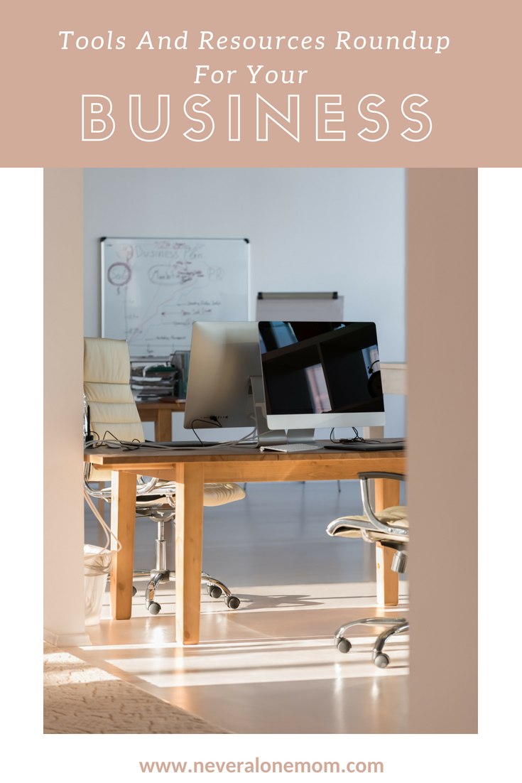 Business tools roundup! | neveralonemom.com