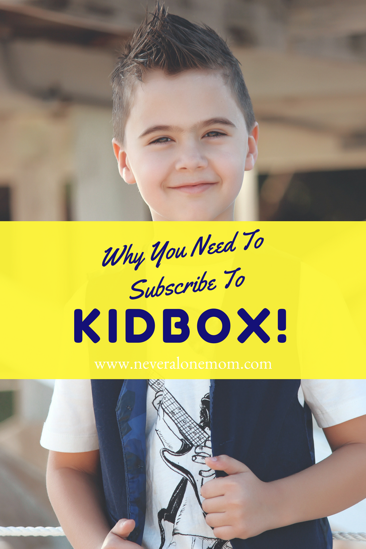 Why you need to get your kids a subscription to Kidbox! | neveralonemom.com