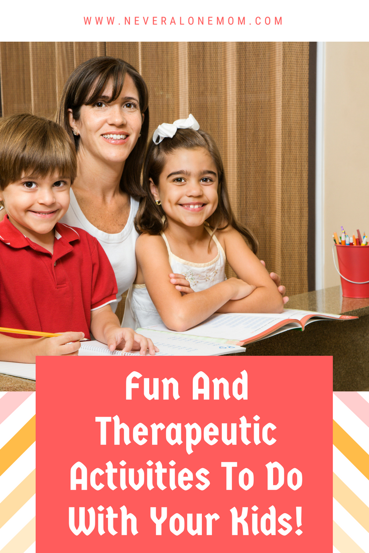 Fun activities you can do with your kids! | neveralonemom.com
