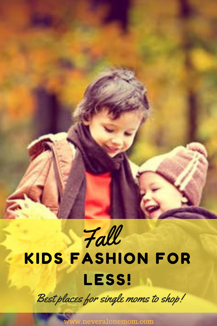 The best places for single moms to save money on kids clothes! | neveralonemom.com