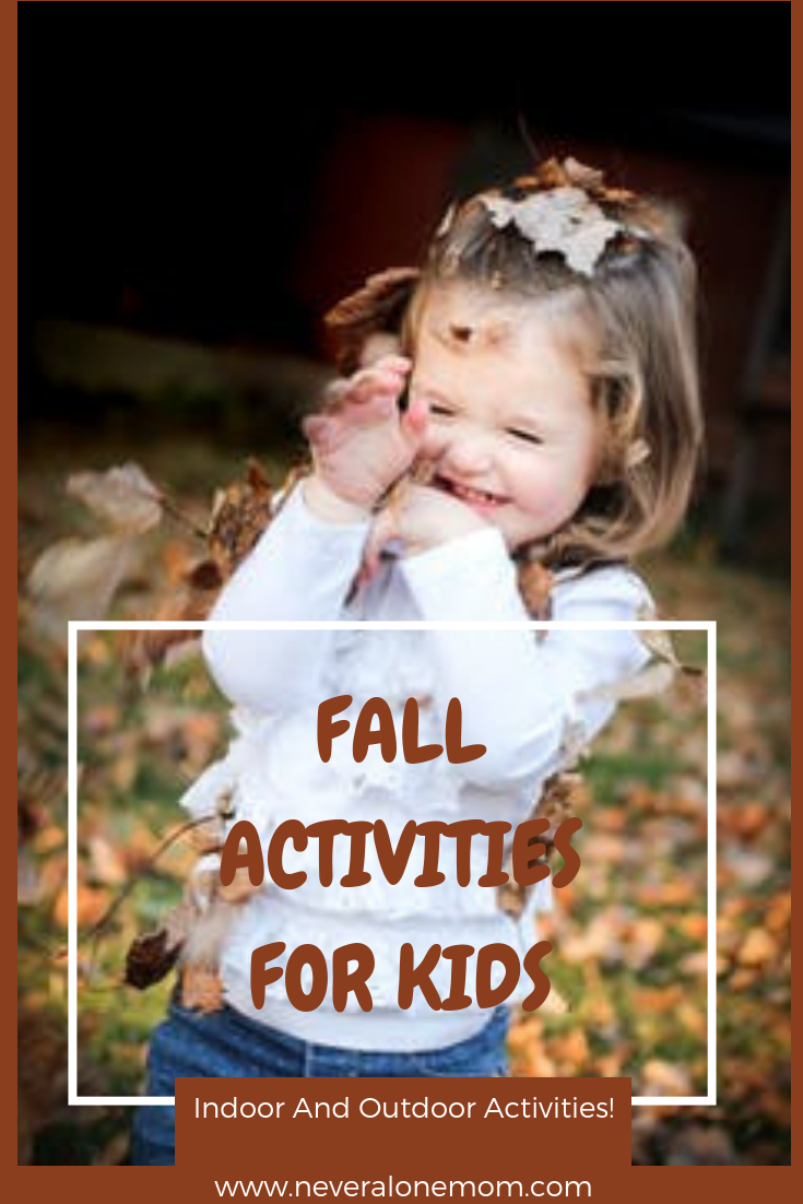 Fall activities for kids! | neveralonemom.com