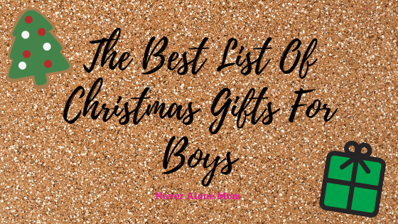 Christmas gifts for boys! |neveralonemom.com